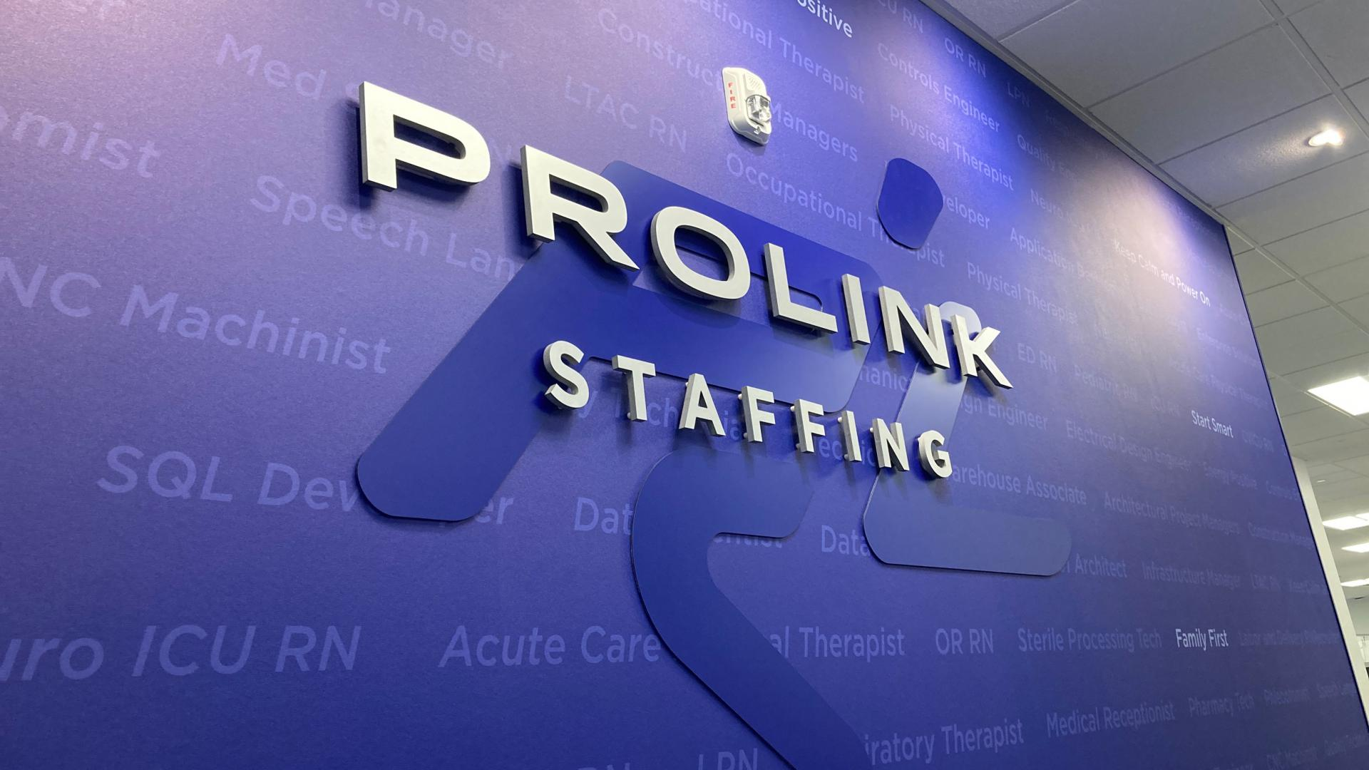 ProLink Welcome Wall HQ